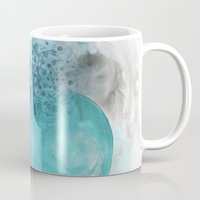 blues Mugs featuring Blues by Claudine Gevry