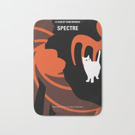 No277-007-2 My Spectre minimal movie poster Bath Mat