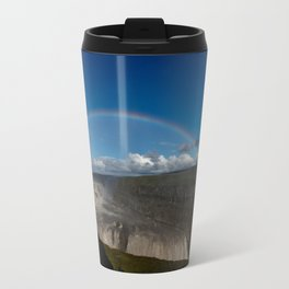 Iceland Rainbow Travel Mug