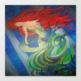 Enchanted Mermaid Canvas Print
