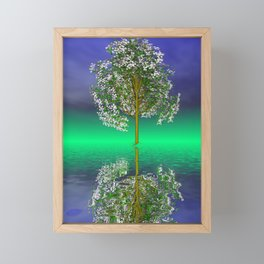 just a fancy tree -3- Framed Mini Art Print