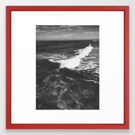 Oceanside Beach II Framed Art Print