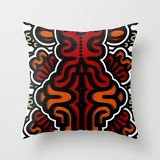 Biotica 3 Throw Pillow