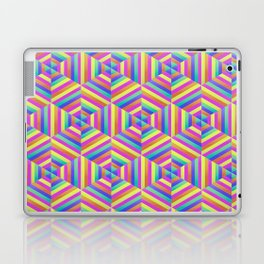 Kaleidoscope Hex Laptop & iPad Skin