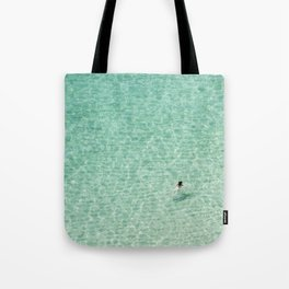 Naked swimming in Paradise Tote Bag
