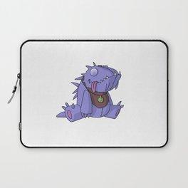 Cute Plush Dino Laptop Sleeve