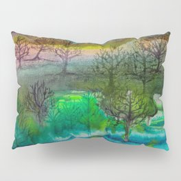 A Walk with Trees Pillow Sham