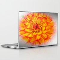 dahlia Laptop & iPad Skins featuring Dahlia by Art-Motiva