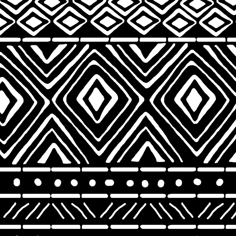 13489a6c8b9c African Mud Cloth // Black Leggings by thinlinetextiles   Society6