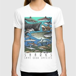 Save Our Species - Sharks T-shirt