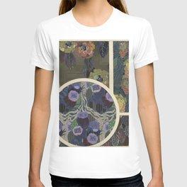 vintage art deco pattern T-shirt