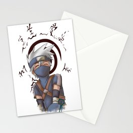 Young Kakashi and Seal Stationery Cards