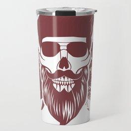 Real Men Have Beard - beard design for beard wearers Travel Mug