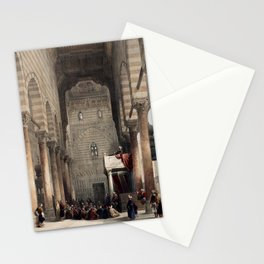 Mosque of The Metwalys, Egypt (1846) Stationery Cards