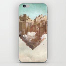 My Heart Is My Castle iPhone Skin