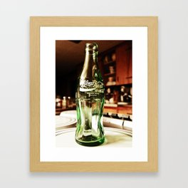 Glass as art Framed Art Print