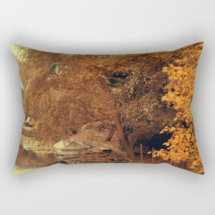 Autumn scenery #4 Rectangular Pillow