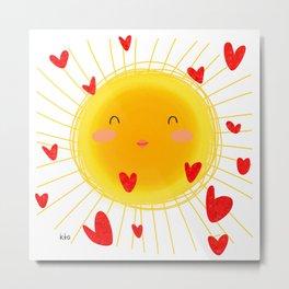 Sun Kissed Metal Print