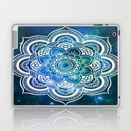 Mandala : Blue Green Galaxy Laptop & iPad Skin