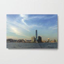 Hong Kong Sky Metal Print