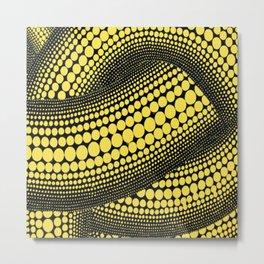pattern by Yayoi Kusama Metal Print