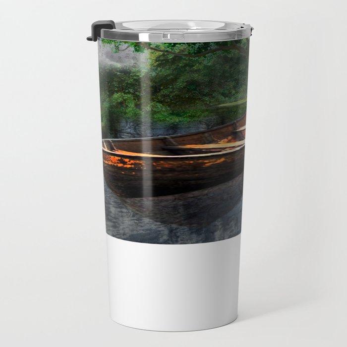 lake house Travel Mug