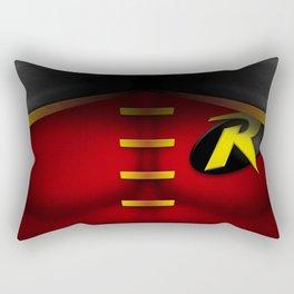 Robin: Superhero Art Rectangular Pillow