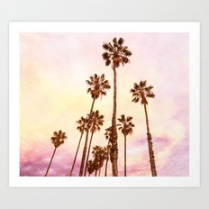 Coconut Groove #society6 #decor #lifestyle #buyart Art Print