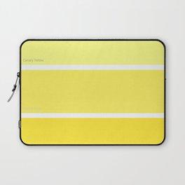 Canary Yellow Laptop Sleeve