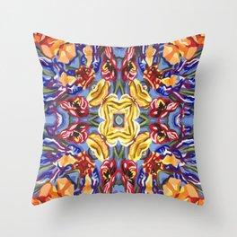 Floral II Throw Pillow