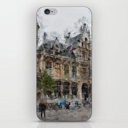 Antwerpen 2 Painted iPhone Skin