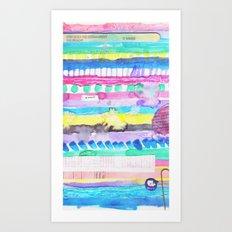 Finally summer Art Print