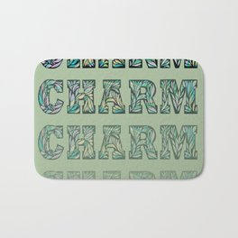Charming - Green Bath Mat