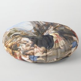 The Massacre of the Innocents - Rubens Floor Pillow
