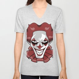 Clown Wicked Common Came creepy horror gift Unisex V-Neck