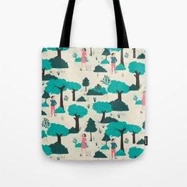 Modern Romance Tote Bag