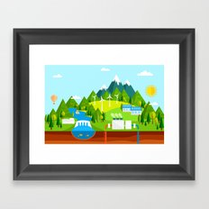 Wind Energy Framed Art Print