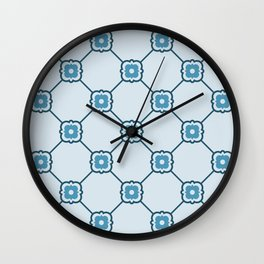 Dimples | Light Blue Wall Clock