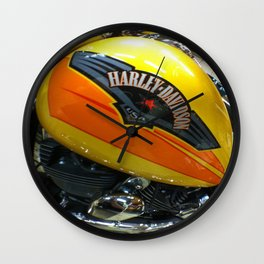 If Bumble Bee were a Harley Wall Clock