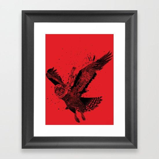 Red Baron Framed Art Print