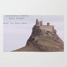 postcard from lindisfarne castle... Rug