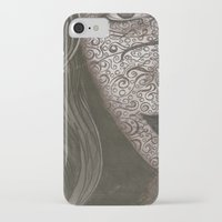 no face iPhone & iPod Cases featuring Face  by Kate Allison