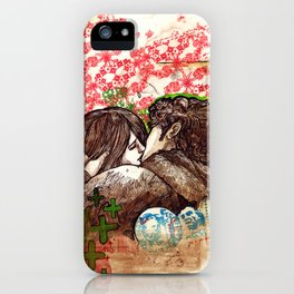 Spring that hasn't come yet iPhone Case
