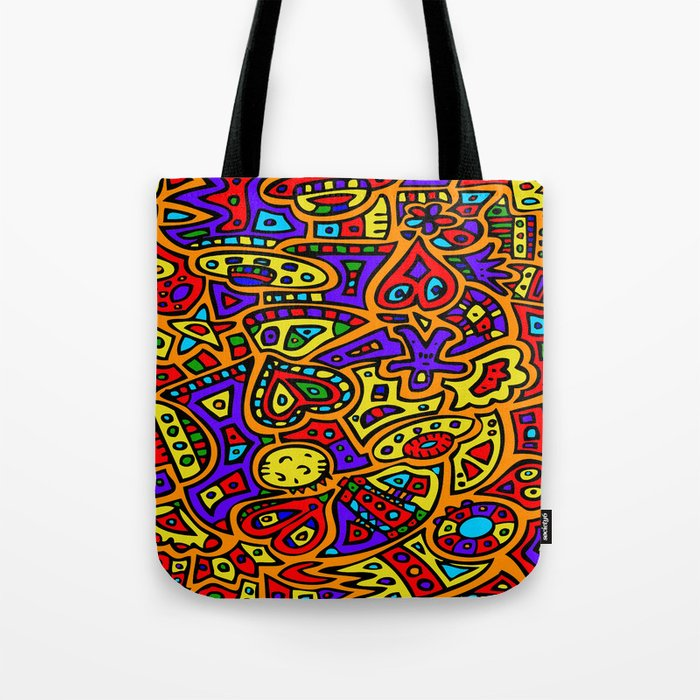 Abstract #416 Tote Bag