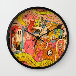 The Costume Contest Wall Clock