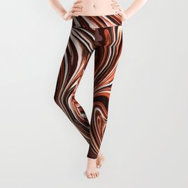 Liquid Golden Marble 011 Leggings