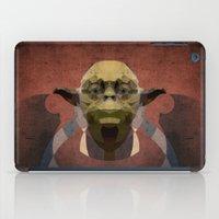 yoda iPad Cases featuring Yoda by lazylaves