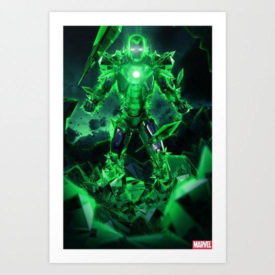 IRON MASH // Iron Krypt  Art Print