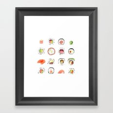 Sushi Time Framed Art Print