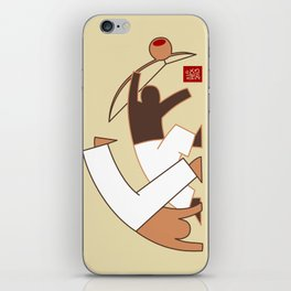 Capoeira 264 vecto iPhone Skin